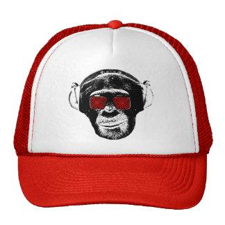 Funny monkey cap