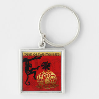 Funny Monkey Chinese New Year Zodiac keychain