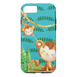 Funny Monkey Jungle Fun iPhone 7 Case