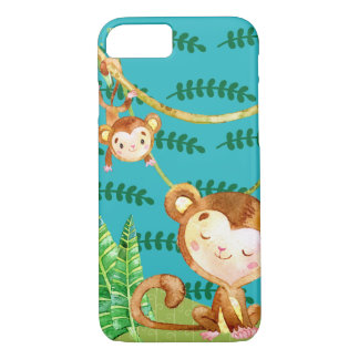 Funny Monkey Jungle Fun iPhone 8/7 Case