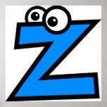 Funny Monogram Letter Z