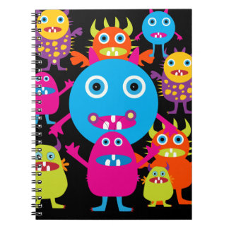 Funny Monster Bash Cute Creatures Party Journals
