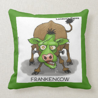 Funny Monster Cow Throwpillow