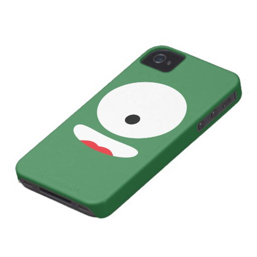 Funny Monster Face iPhone 4 Cover
