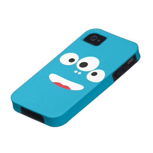 Funny Monster Face Case-Mate iPhone 4 Cover