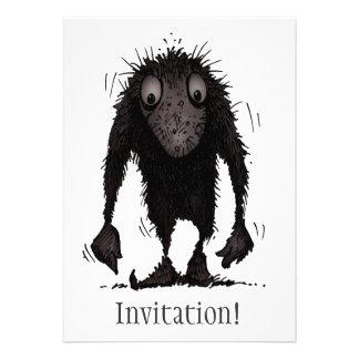 Funny Monster Troll Custom Invites