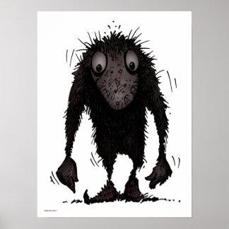 Funny Monster Troll Poster