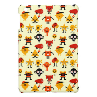 Funny monsters pattern cover for the iPad mini