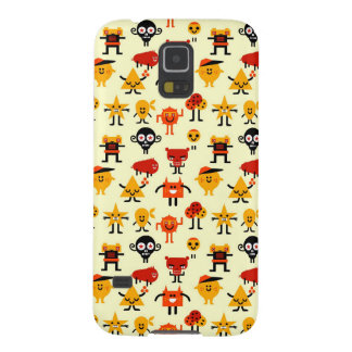 Funny monsters pattern galaxy s5 cases