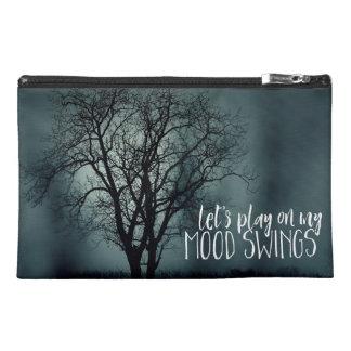 Funny Mood Swings Spooky Tree Photo Travel Accessory Bag