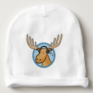 Funny Moose Baby Beanie