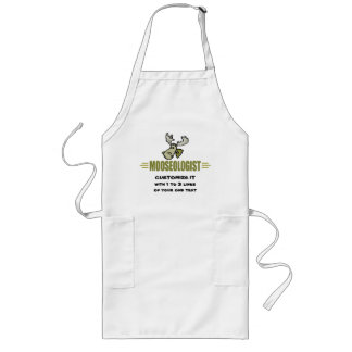 Funny Moose Long Apron