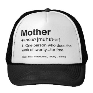 Funny Mother Definition Cap