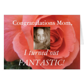 Funny Mothers Day Card - Add your own photo