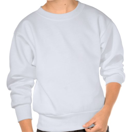 Funny mountain biking pullover sweatshirt