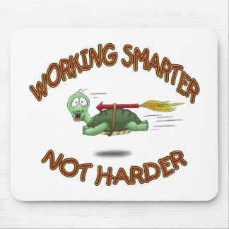 Funny Mouse Pads: Work Smarter not Harder Mouse Mat