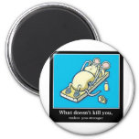 Funny Mouse Product 6 Cm Round Magnet