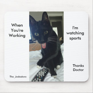 Funny mousepad  Thank you gift for doctor or vet