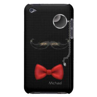 Funny Moustache Glasses Bow Tie iPod Case