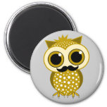 funny moustache owl