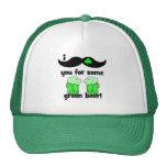 funny moustache St Patrick's Day