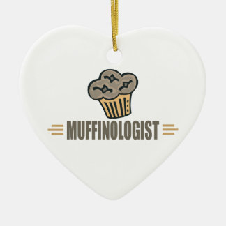 Funny Muffin Christmas Ornament