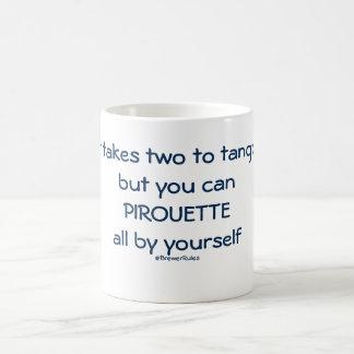 Funny mug: It takes two to tango, but ... Basic White Mug