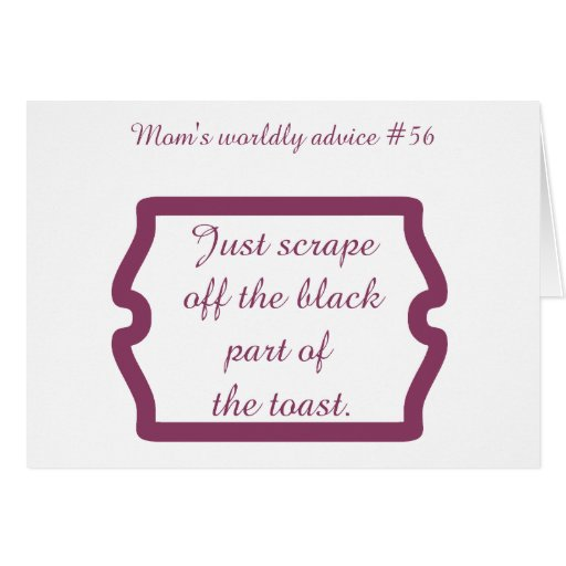 Funny mum quotes on t-shirts and gifts for mum. greeting card