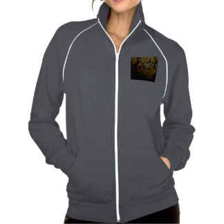 Funny mummy with ravens on the arm jackets