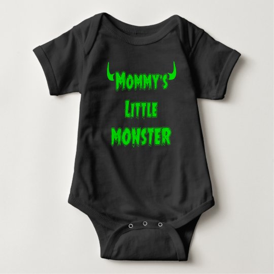 Funny Mummy's Little Monster - Gothic Baby Clothes