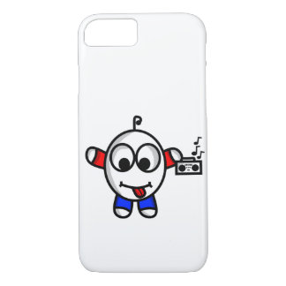 funny music dude iPhone 8/7 case