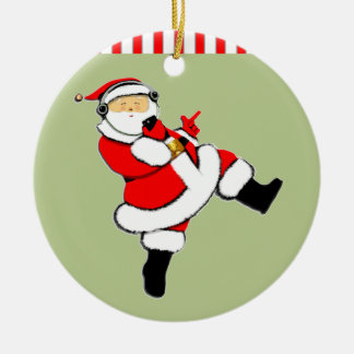 Funny Music-Lover Christmas Ornament
