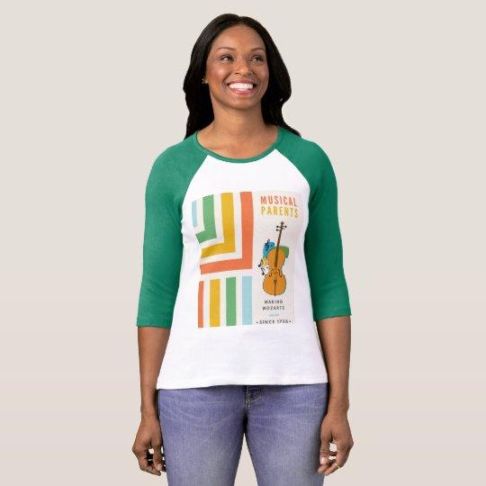 Funny Music Mum Shirt: Making Mozart's Since 1756 T-Shirt
