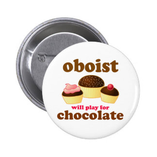 Funny Music Oboe Button
