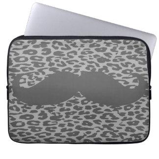 Funny Mustache 4 Laptop Sleeve
