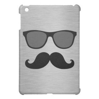 FUNNY MUSTACHE AND SUNGLASSES iPad MINI CASE
