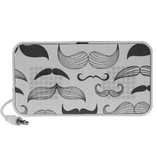 Funny Mustache Fantachetic Travelling Speakers