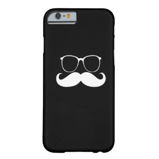 Funny  Mustache Glasses 2 Barely There iPhone 6 Case