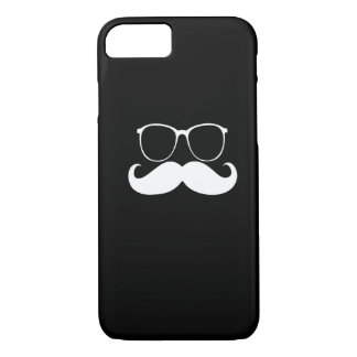 Funny  Mustache Glasses 2 iPhone 7 Case