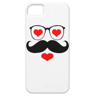 Funny  Mustache Glasses 6 Barely There iPhone 5 Case