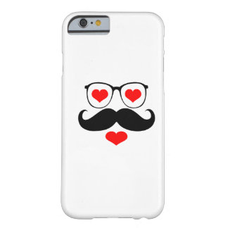 Funny  Mustache Glasses 6 Barely There iPhone 6 Case