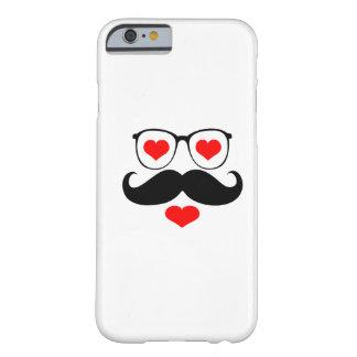 Funny Mustache Glasses 6 iPhone 6 Case