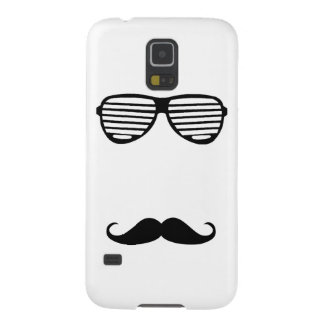 Funny Mustache style with glass by storeman Galaxy S5 Cover
