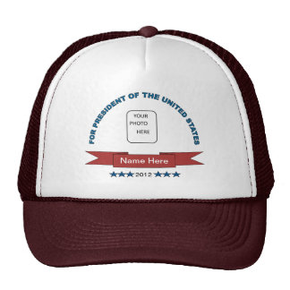 Funny Name Here President Ball Cap Hats