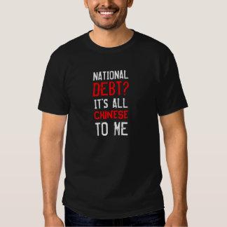 Funny National Debt Tee Shirt