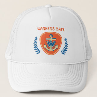 "Funny Nautical ""Captain's Mate"" Trucker Hat"