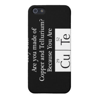Funny Nerd Chat Up Line iPhone 5/5S Cover