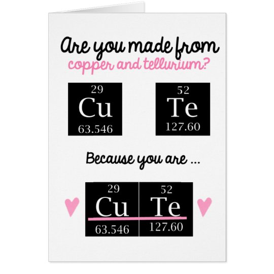 Funny Nerdy Valentines Card