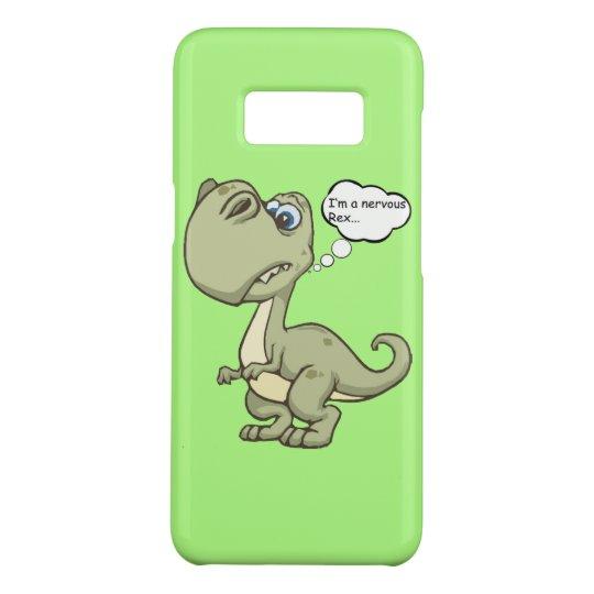 Funny 'Nervous Rex' T-rex Case-Mate Samsung Galaxy S8