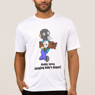 Funny new dad tees